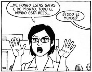 hopey glass profesora analisis critica jaime hernandez love and rockets
